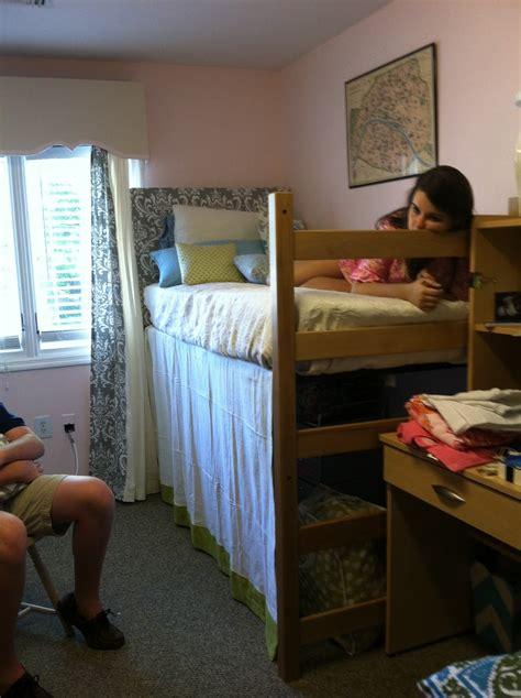 The Old Post Road Easy Dorm Room Headboard Tutorial