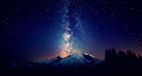 Milky Way Wallpaper Wallpapers Collection