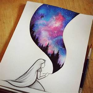 Best 25 Galaxy Art Ideas On Pinterest Galaxy Drawings