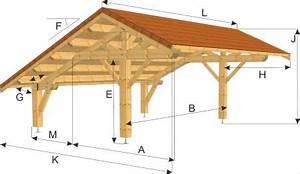 auvent pour voiture meilleures images d39inspiration pour With exceptional plan maison en pente 10 construire un carport bois