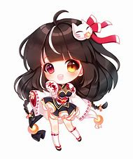 Cute Anime Chibi Girl