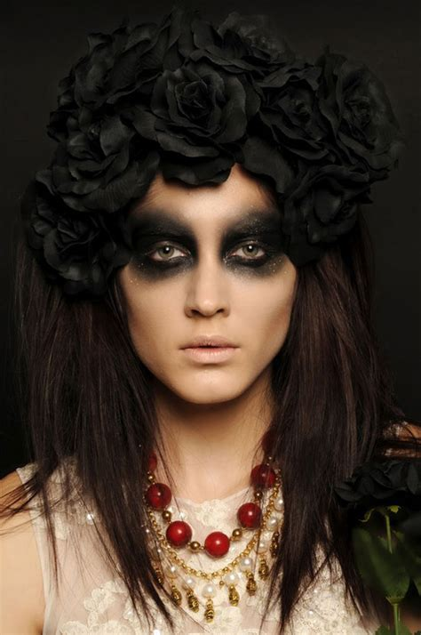 15 easy creative yet scary halloween hairstyles 2012