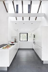 Moderne weisse Küche · Ratgeber Haus & Garten