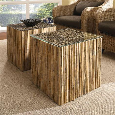 table cuisine moderne design jolies variantes pas cher pour un meuble en bambou