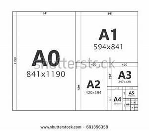 Format Raisin Dimension : paper size format series a a 0 stock vector 691356358 ~ Melissatoandfro.com Idées de Décoration