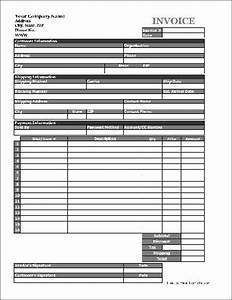 Free easy copy detailed product invoice tall from formville for Copies of invoices for free