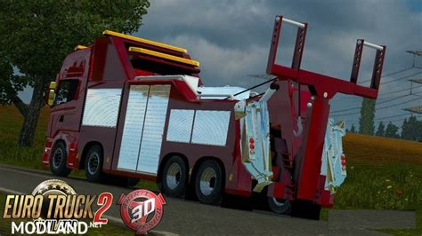 Scania R730 Streamline Recovery Mod For Ets 2