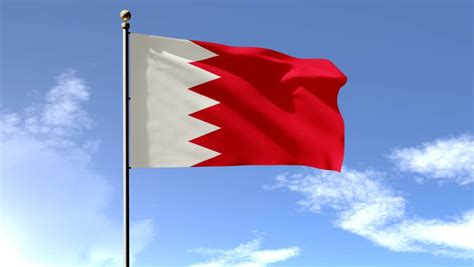 bahrain flag  animation  stock footage video  royalty   shutterstock