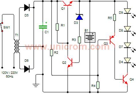 luz de emergencia con leds electr 243 nica unicrom