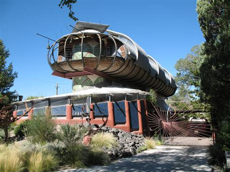 Unusual House, Albuquerque, Nm, Usa  The Submarine, The