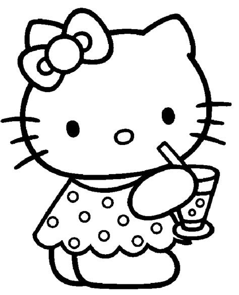 Hello Kitty Coloring Pages Best Gift Ideas Blog