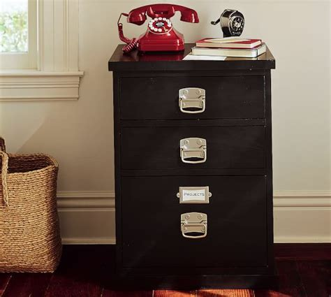 Pottery Barn File Cabinets by Bedford 3 Drawer File Cabinet Pottery Barn