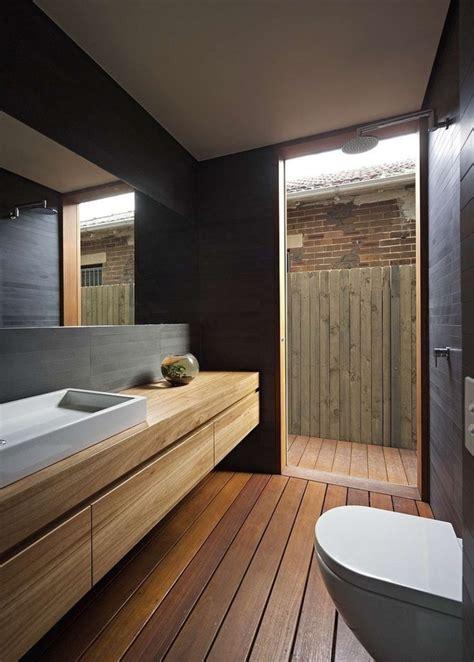 revetement sol salle de bain sur plancher bois relooker une salle de bain 42 id 233 es en photos