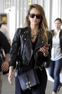 Los Angeles 2013 : photos jessica alba le look rock qui lui va si bien ~ Medecine-chirurgie-esthetiques.com Avis de Voitures
