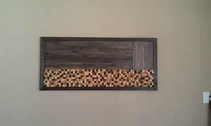 Wall Art Design Ideas: Landscape Position Rustic Wall Art ...