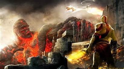 God War Wallpapers Pc Background Desktop Olympus