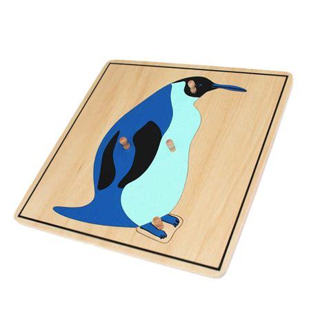 penguin puzzle montessori biology puzzles montessori