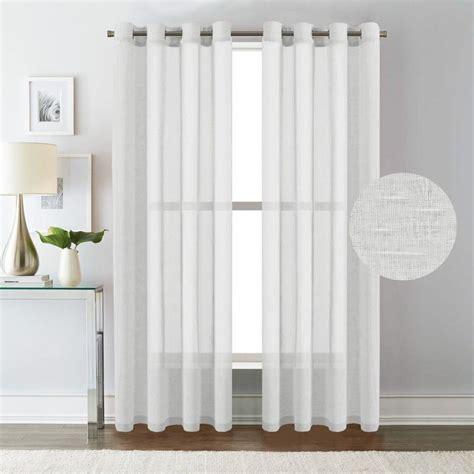 60 Inch Length Curtains #7 Hversailtex White Curtain