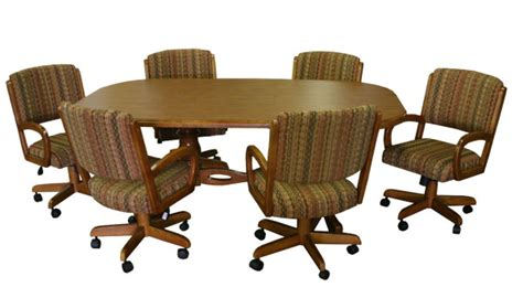 dinette sets with caster chairs wood dinette sets wooden kitchen tables dinettes