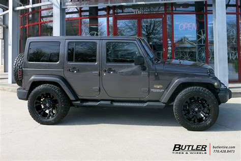 Vapor Jeep by Jeep Wrangler With 20in Fuel Vapor Wheels Exclusively From