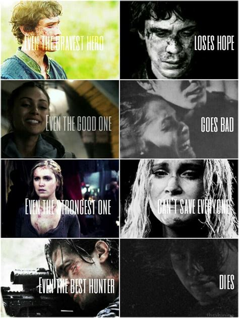 The 100 Quotes Clarke The 100 Book Quotes Quotesgram