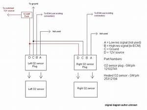 Gm O2 Sensor Wiring Diagram