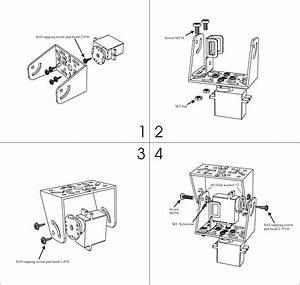 Pan  Tilt Bracket Kit  Multi Attachment
