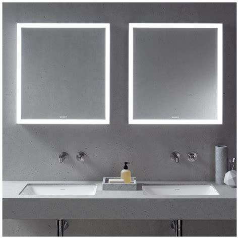 duravit spiegel x large duravit starck spiegel mit beleuchtung 76 6 x 110 6 cm