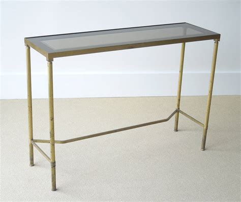 very narrow sofa table very narrow french brass console table at 1stdibs