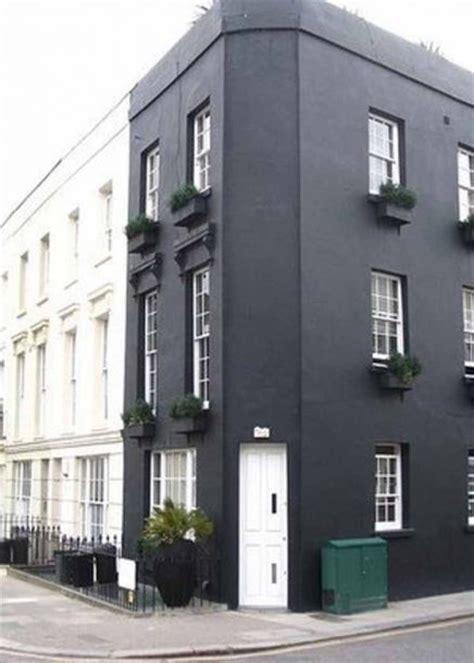 Schwarze Fassade schwarze fassade schwarze fassade wohnideen einrichten schwarze h