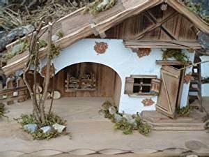 Weihnachtskrippe Holz Selber Bauen : modellhaus grosses holzhaus krippe 55cm ~ Buech-reservation.com Haus und Dekorationen
