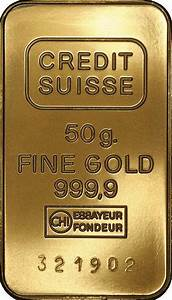 Credit Suisse 50 gramms fake gold bars - Coin Community Forum