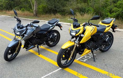 Tvs Apache Rtr 200 4v Review, First Ride Gaadiwaadicom