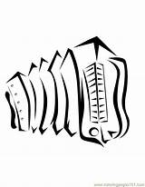 Coloring Pages Accordian Printable Powered Results Yahoo sketch template