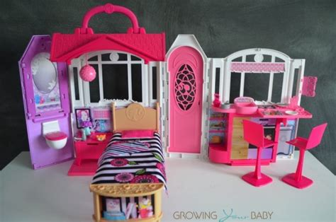 Take A Look Inside Barbie's Glam Getaway House{video Review}