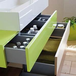 Organisateur Tiroir Salle De Bain : rangement de salle de bain marie claire ~ Teatrodelosmanantiales.com Idées de Décoration