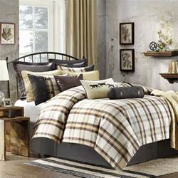 woolrich oak harbor plaid 6pcs queen comforter set