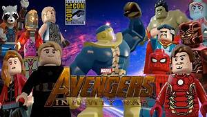 LEGO AVENGERS INFINITY WAR SDCC LEAKED TRAILER YouTube