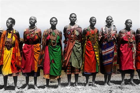 wild africa traditional clothes qetty