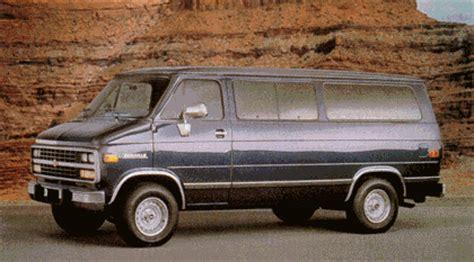 how cars run 1995 chevrolet sportvan g30 on board diagnostic system 1995 chevrolet sportvan review