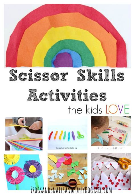 best 25 scissor skills ideas on crafts 567 | 9a651654ec99ded392b7ba78becec347 cutting activities for kids crafts for kids