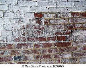 Mur Brique Blanc : mur brique 2 blanc mur quelques uns peinture brique blanc rouge ~ Mglfilm.com Idées de Décoration