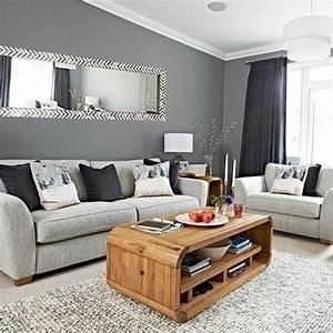 Salon Canapé Gris : couleur salon gris meilleures images d 39 inspiration pour votre design de maison ~ Preciouscoupons.com Idées de Décoration