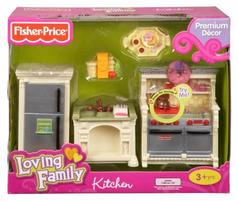 Fisherprice Loving Family Dollhouse Kitchen Home Garden