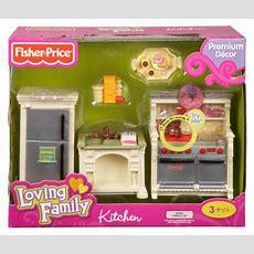 Fisherprice Loving Family Dollhouse Kitchen Home Garden
