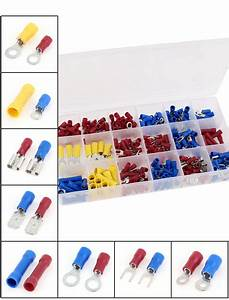 300 Pcs Wire Connector Insulated Crimp Terminal Assortment