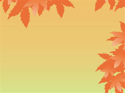 Autumn Leaves Fall Backgrounds Powerpoint by Fall Leaves Background Powerpoint Autumn Leaves With