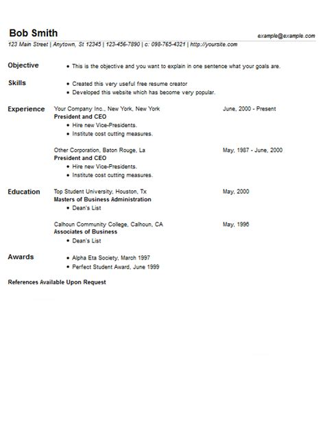 For Resume Length by Most Compact Resume Template 7 To Minimize Page Length