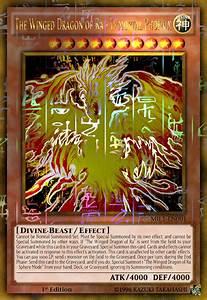 Winged Dragon Of Ra God Phoenix Millennium Gold By