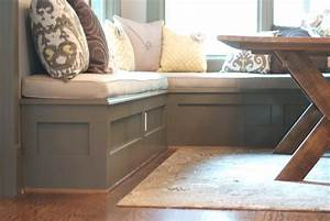 Building A Kitchen Nook Bench — Awesome Homes : Types of